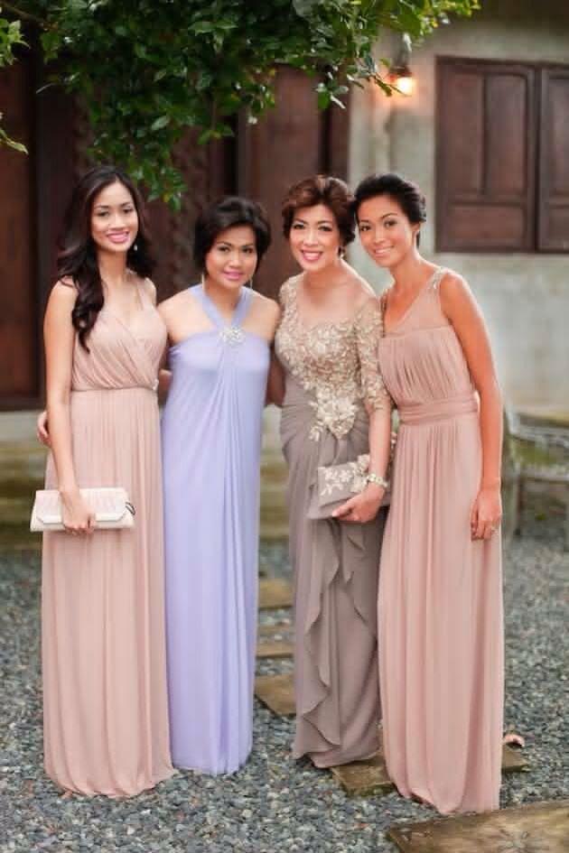 aac4e84a88 Ninangs Beach Wedding Guest Attire, Formal Wedding Attire, Wedding Entourage,  Formal Gowns,