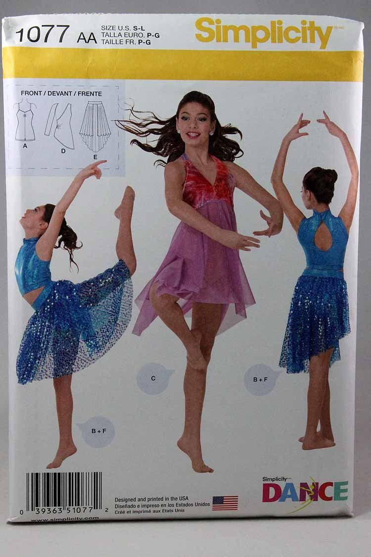 Dance Costume Patterns New Design Inspiration