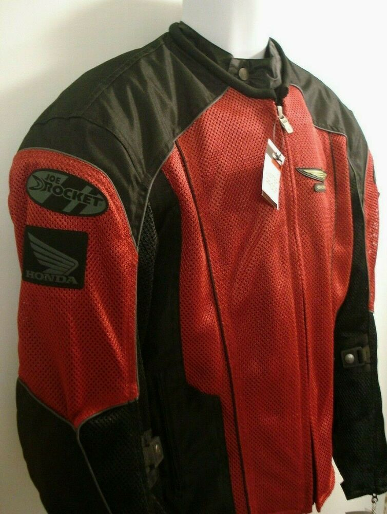 Joe Rocket Velocity Womens Mesh Textile Motorcycle Jacket Pink//Black