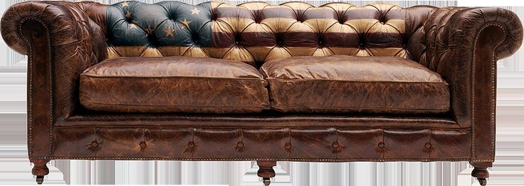American Flag Vintage Chesterfield Sofa Sofas Beds