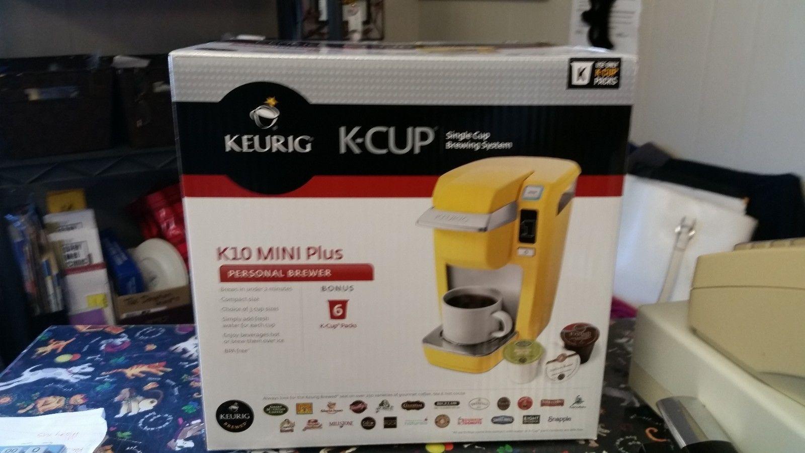 Keurig B31 MINI Plus Coffee Maker - yellow https://t.co/SE6oW7PFlx https://t.co/nwXh9rYWzs