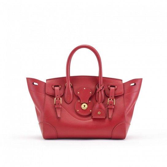Le borse Ralph Lauren della collezione Primavera Estate 2014 - #bags #bag #ralphlauren #bordeaux