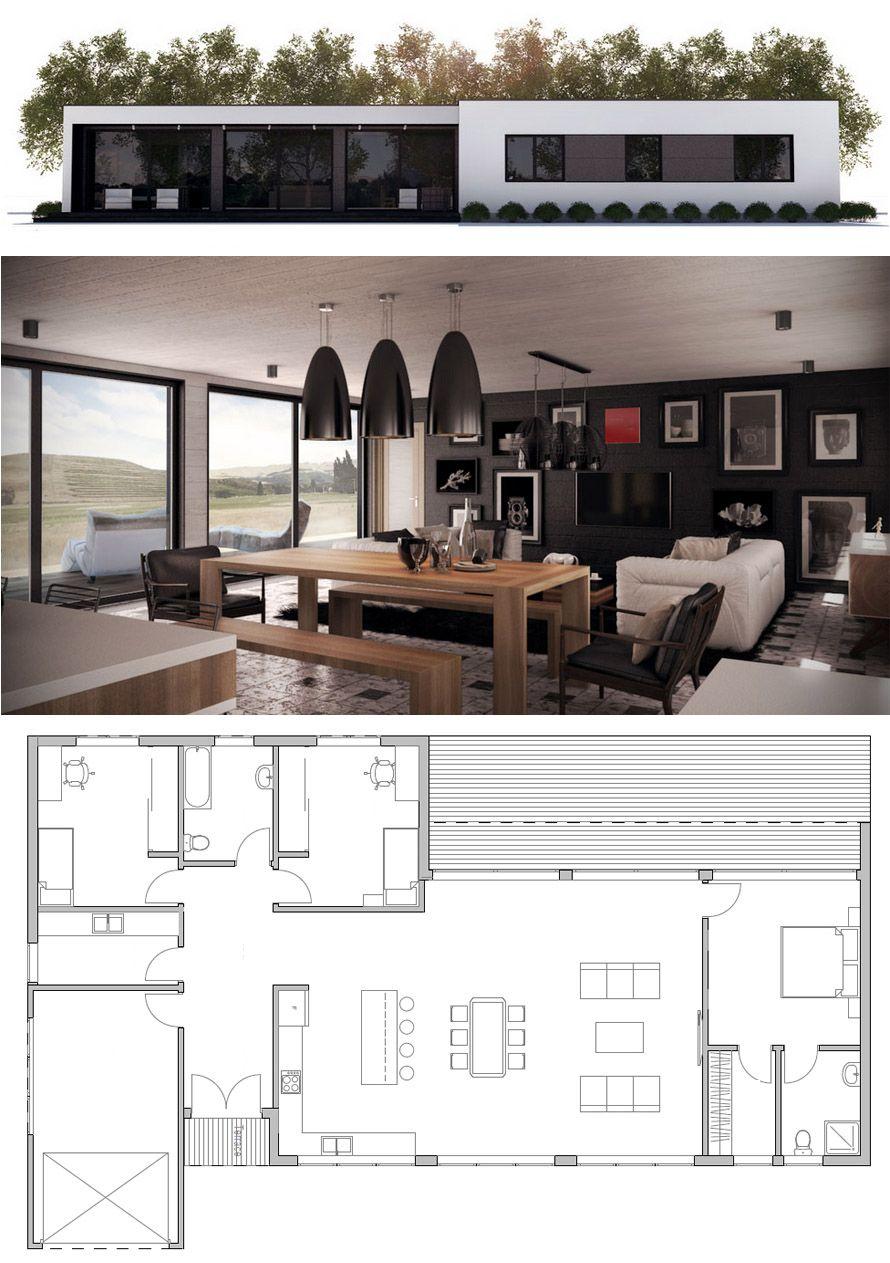 Modern Design Minimalist House Plan Minimalism Modernarchitecture Denah Rumah Denah Rumah Kecil Rumah