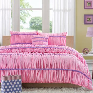Mizone Kayla Ruched Comforter Set found at @JCPenney | Bedroom ...
