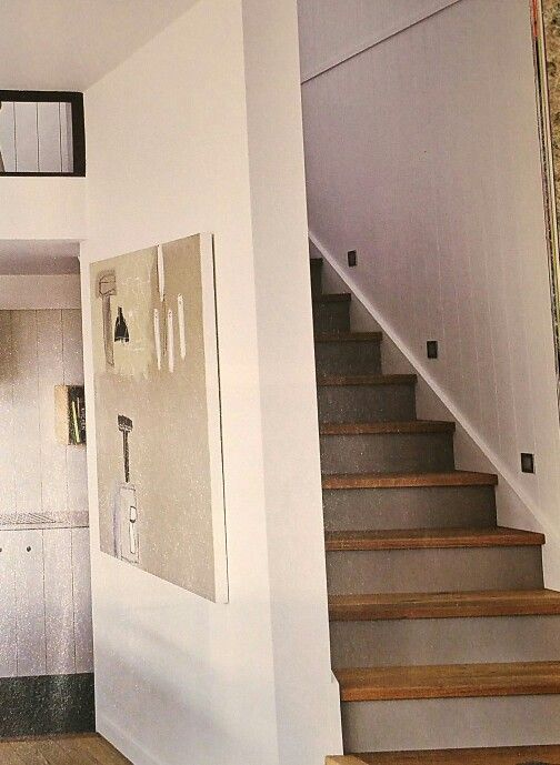 Best Enclosed Staircase With Foot Lights Stair Makeover Loft 640 x 480