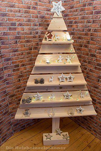 weihnachtsbaum aus holz bau m satz deko. Black Bedroom Furniture Sets. Home Design Ideas
