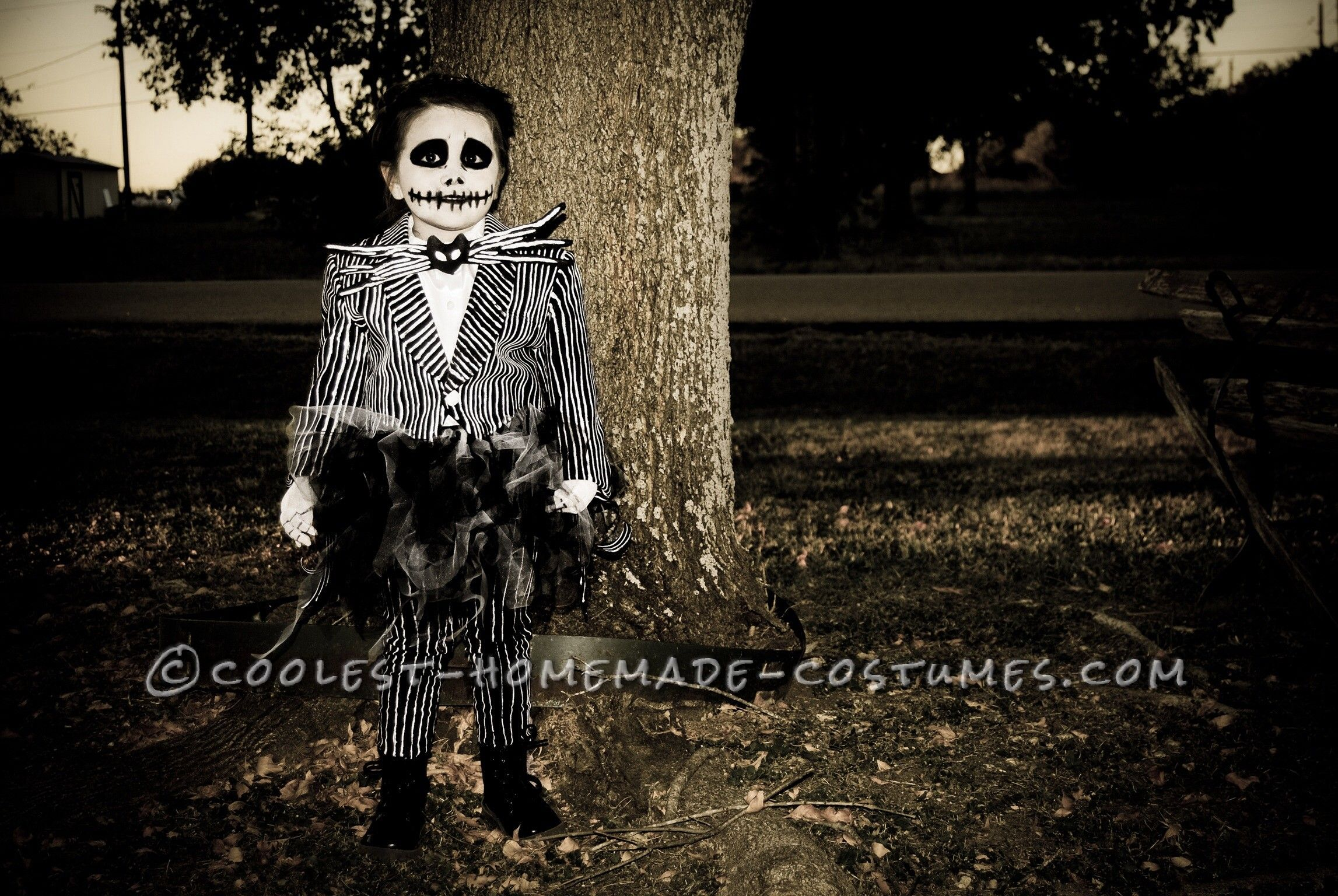 Homemade Jack Skellington Toddler Costume Jack