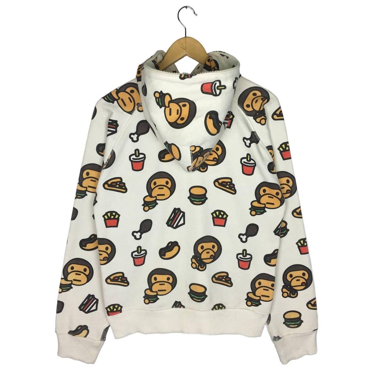 075ea6af2 Bape A Bathing Ape Baby Milo Junk Food Hoodie Fullzip Size m - Sweatshirts    Hoodies for Sale - Grailed