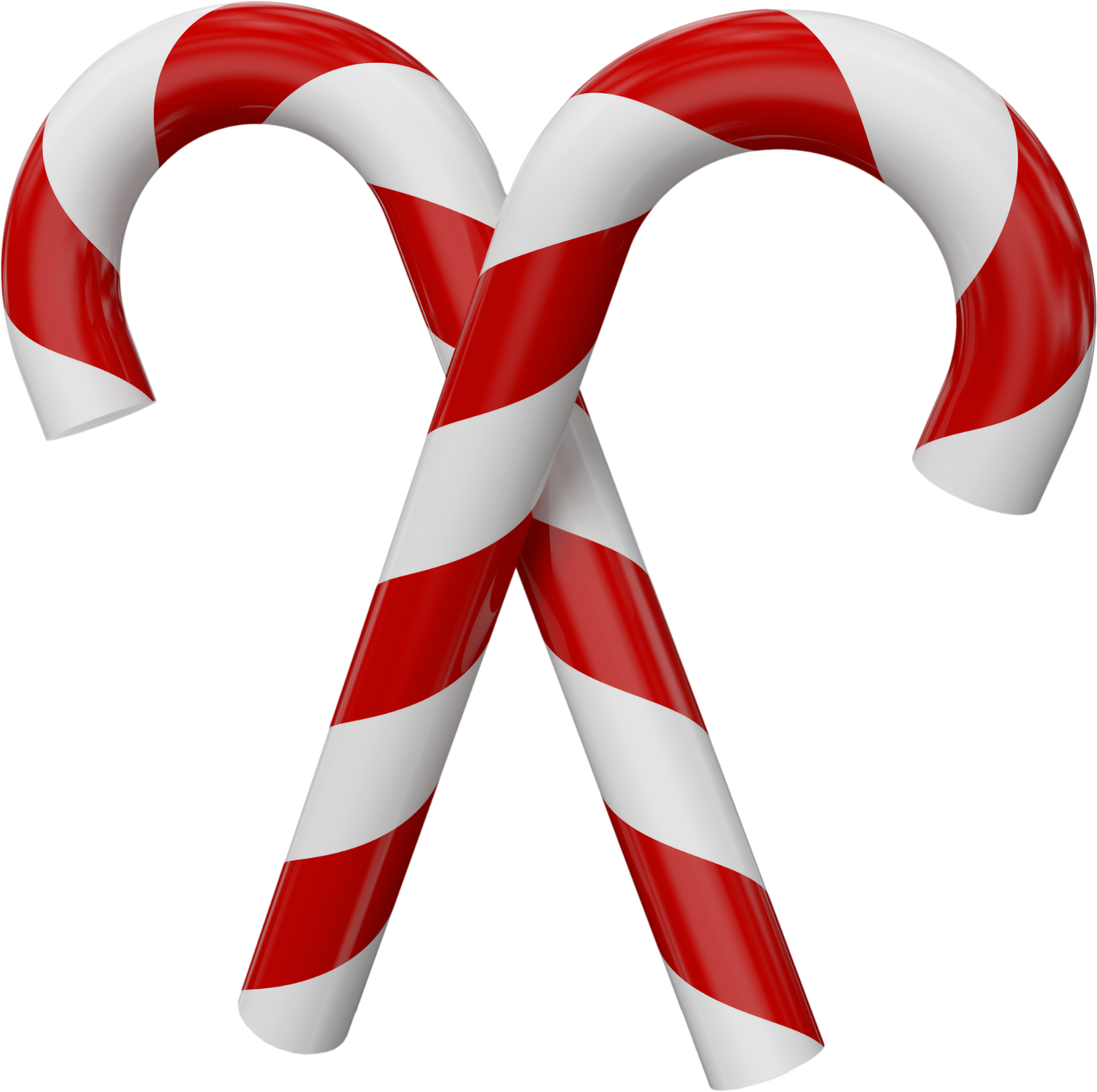 Large_Transparent_Christmas_Candy_Canes.png (1500×1493 ...