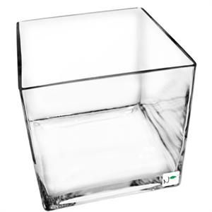 big cube glass bowl for fruit and vegetable buffets