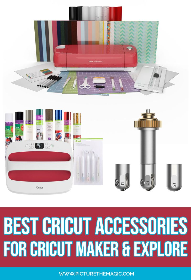 12+ Cricut craft machine accessories info