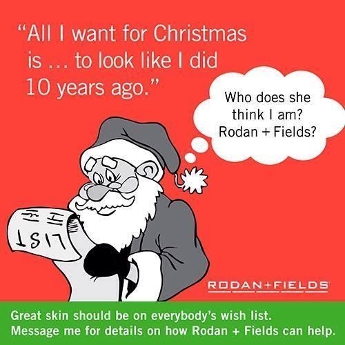 LOL- we get results, even Santa knows it!!