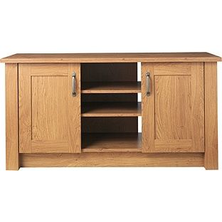 34bb6db8fd Buy Ohio 2 Door TV Entertainment Unit/Low Sideboard - Oak Effect at Argos.co.uk  - Your Online Shop for Sideboards and chest of drawers, TV stands.