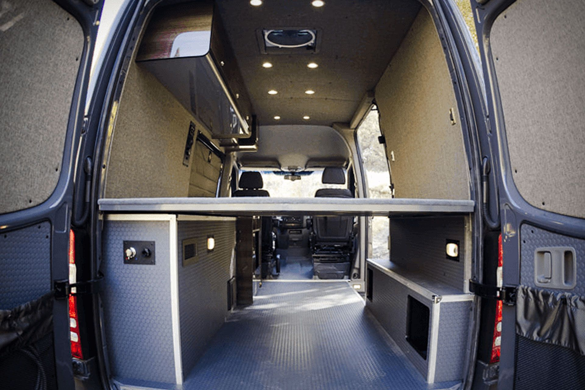 Sync Custom Conversion Van Vans Sprinter Van Conversation