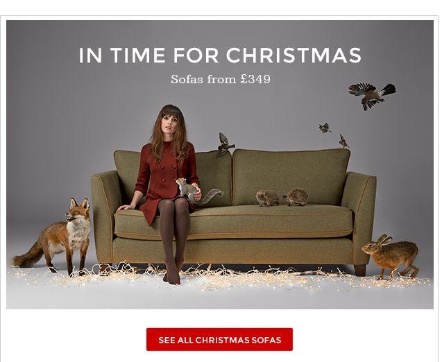 Christmas Sofas