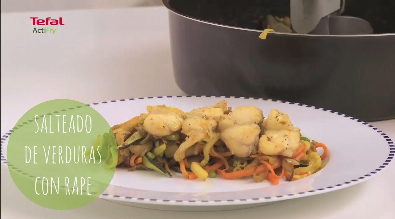 Recetas Cocina Moderna | Recetas Actifry Salteado De Verduras Con Rape Cocina Moderna