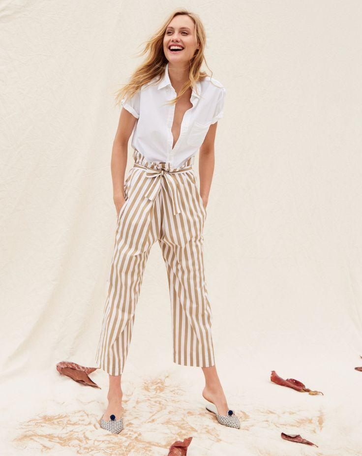 Women's Clothing Jcrew Oxford Work Pants