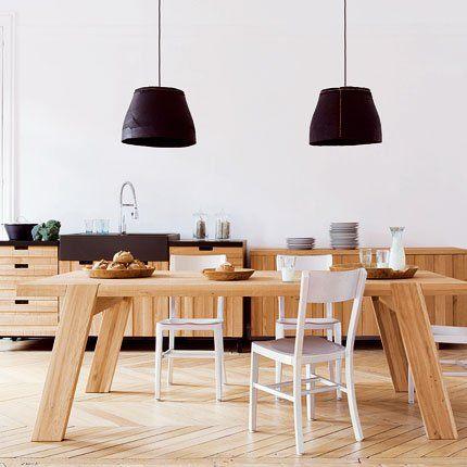 Cuisine Bosco Fly Chene Massif Massif Et Cecile - Fly plan de campagne pour idees de deco de cuisine