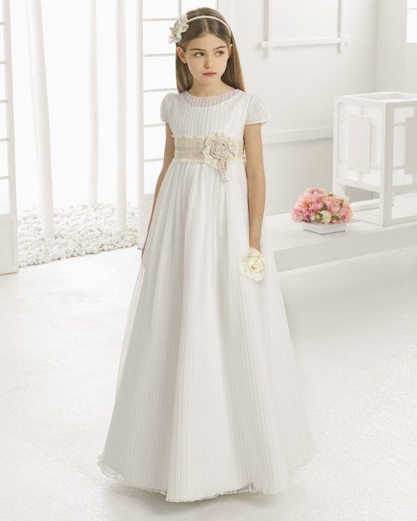 vestidos-de-comunion-rosa-clara-rc99123 | Primera Comunión María ...
