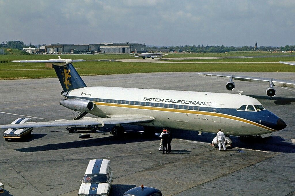 British Caledonian BAC 111 British airline, Commercial
