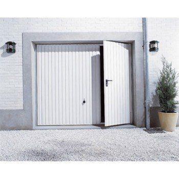 Porte De Garage Basculante Manuelle H200 X L240 Cm Avec