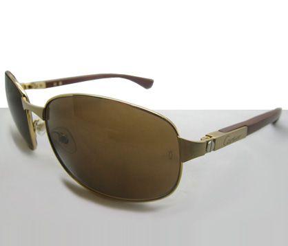 d61806ba96b69 Cartier Santos-Dumont T8200718 Edition Sunglasses In Gold