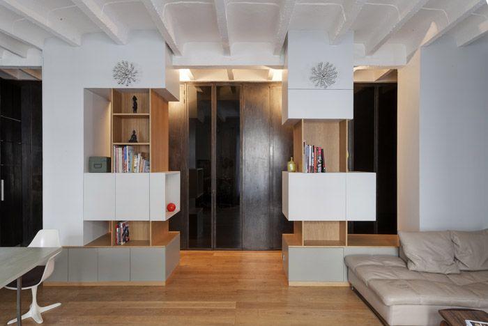 meuble sur mesure entr e archi entr e karine et. Black Bedroom Furniture Sets. Home Design Ideas