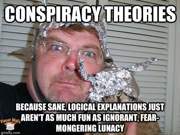 Image result for tinfoil hat meme