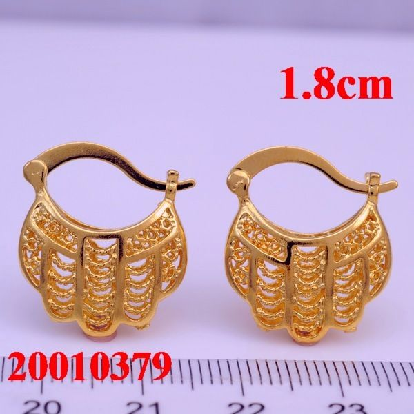 cheap gold earrings buy dubai cheap gold earrings stud for 2013 18k gold 3173