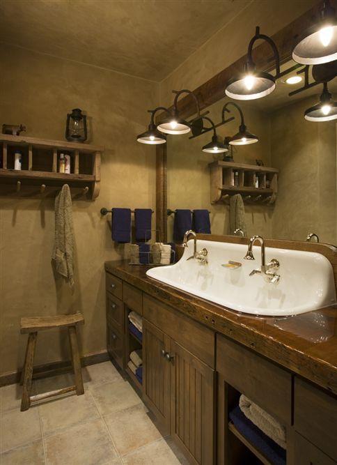 26 Impressive Ideas of Rustic Bathroom Vanity Lifestyle, Modern