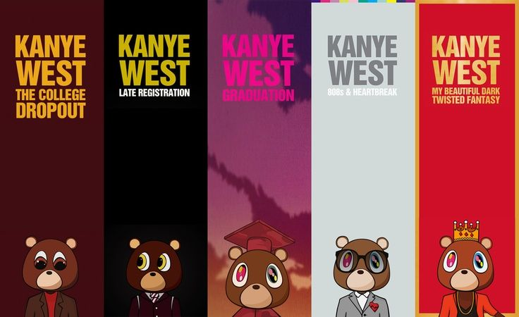 Top Five Favorite Albums Of Kanye West Kanye West Album Cover Kanye West Albums Kanye West