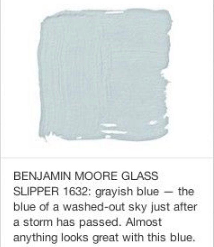 Bm Glass Slipper Paint Colors For Home Paint Color Inspiration