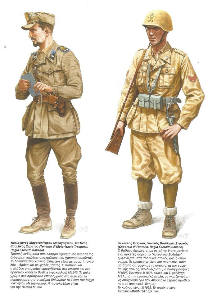 1734d635 Italian Soldiers in Africa WWII | Italy | World war two, Army ...
