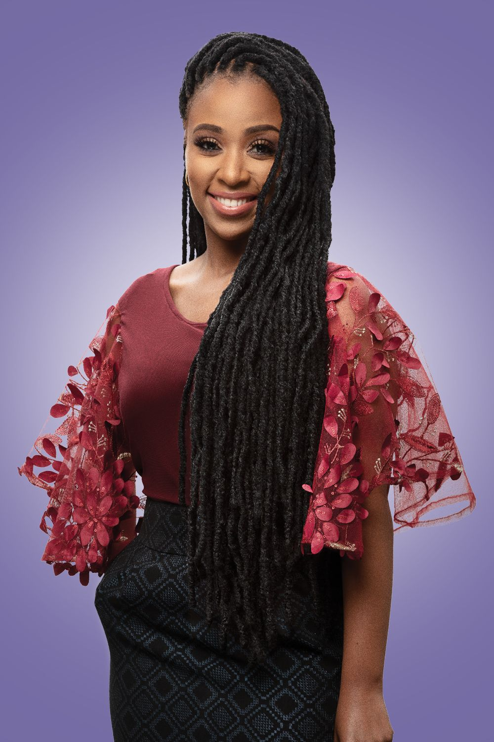 Darling Jozi Dred Lite In 2020 Curly Hair Styles Curly Hair Extensions Hair Wrap Scarf