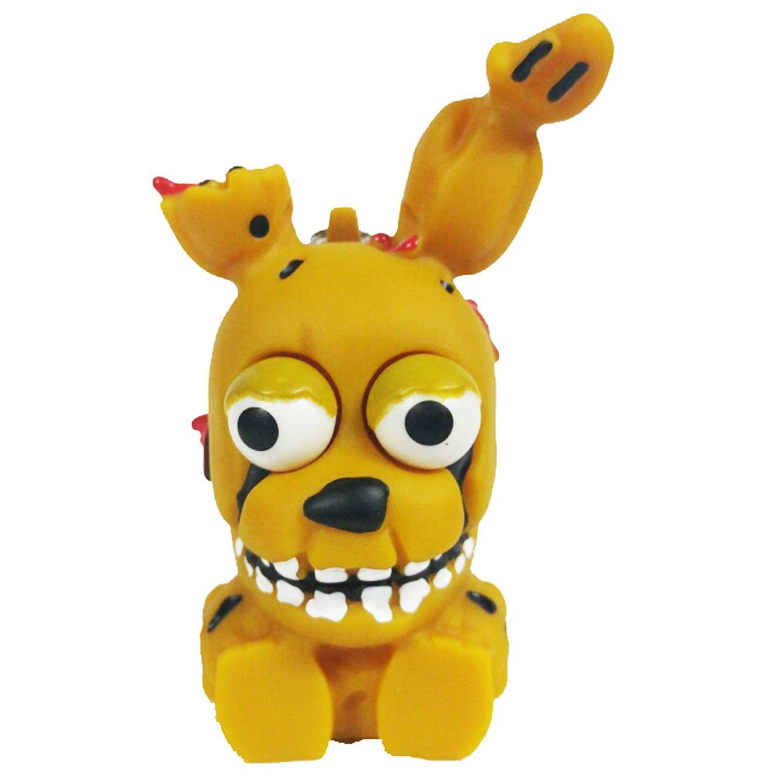 2017 05 freddy fazbear costume amazon - Funko Five Nights At Freddy S Springtrap Squeeze Keychain Figure