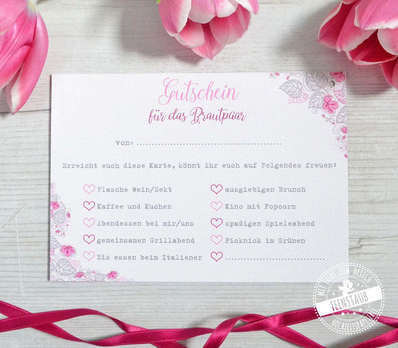 Luftballonkarten Fur Die Hochzeit Mit Gutscheinen Feenstaub At Shop Hochzeit Spiele Gluckwunschkarte Hochzeit Brautpaar