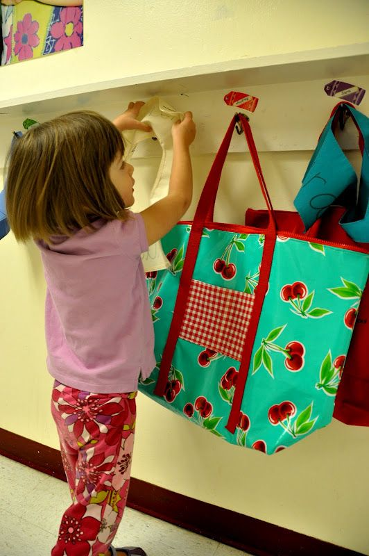 Aesthetic Nest: Sewing: Oilcloth PreSchool Bag | Sewing | Pinterest