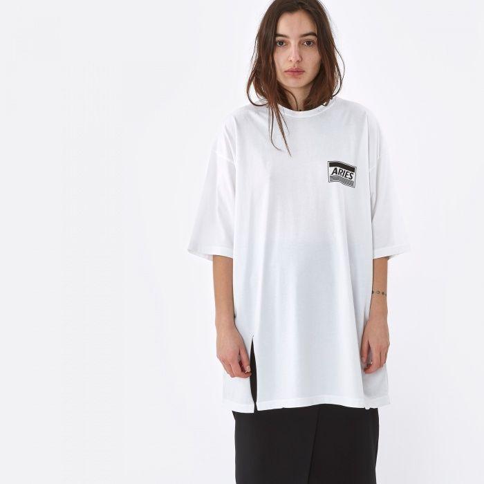 Aries Revelations T-Shirt Dress - White (Image 1)
