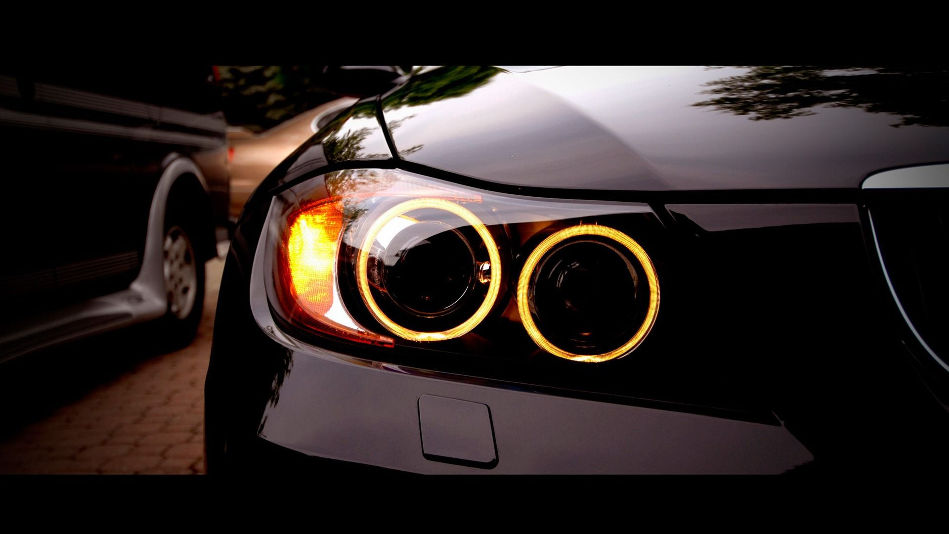 Head Lamp Black Bmw Car Hd Iphone Wallpaper Cars And Automoto