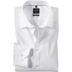 Business clothes for men -  Olymp No. Six shirt, super slim, urban kent, white, 45 olympymp  - #busi...