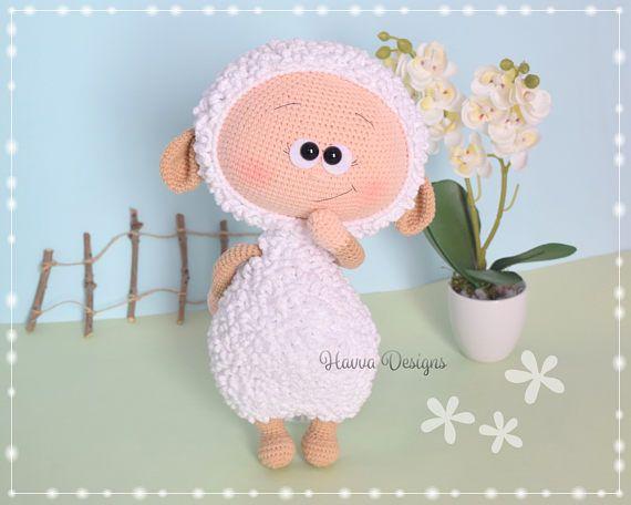 Muster Bonnie mit Schaf Kostüm | gehäkeltes | Pinterest | Schafe ...