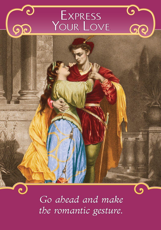 Oracle Card Express Your Love Doreen Virtue Gesti Romantici Angeli