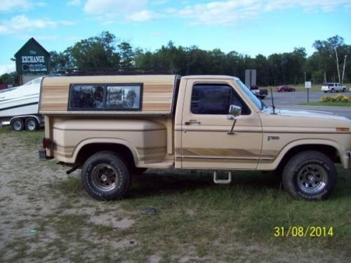 1986 Ford F 150 For Sale Mn 8 500 Ford Trucks Ford F150