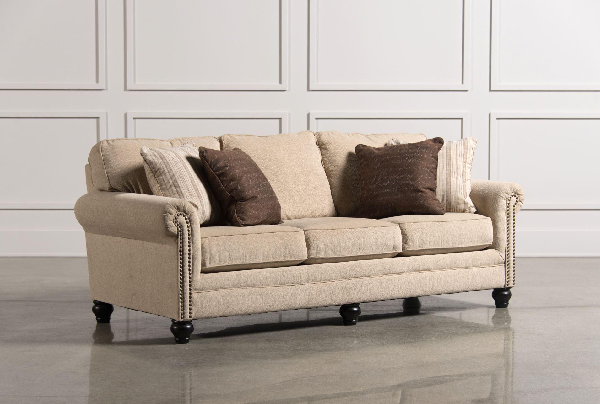 Milari Linen Sofa $425 Living Spaces