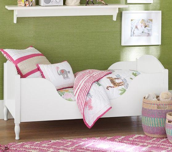 Shelter Toddler Bed Pbkids Nursery Furniture Sets Pottery Barn