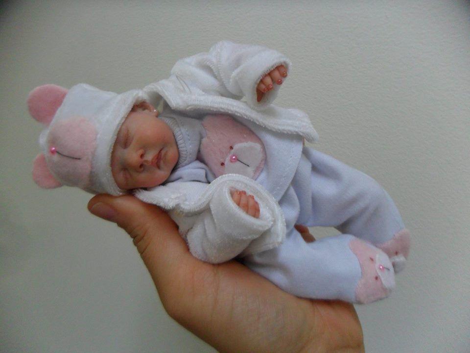 Miniature Polymer Clay By Sheila Mrofka Babies Polymer