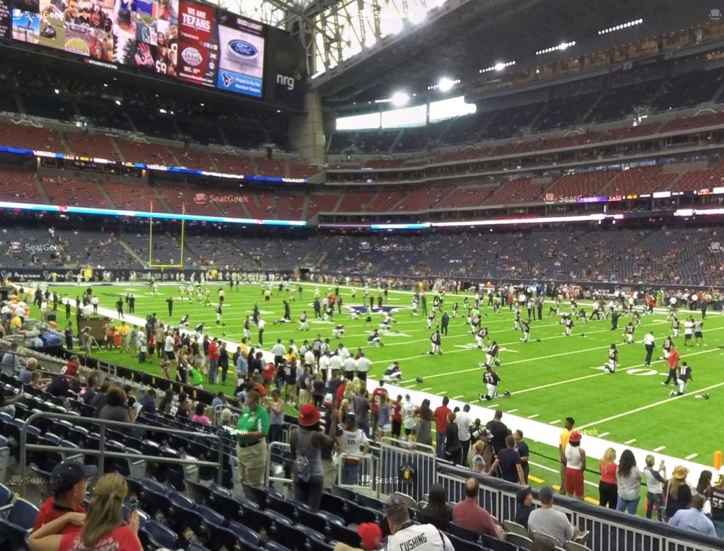 The Most Amazing Texans Stadium Seating Chart Nrg Stadium Seating Charts Houston Attractions