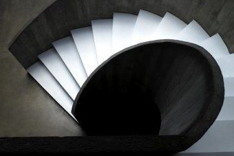 Best A Wonderful Example Of A Helical Concrete Staircase 400 x 300