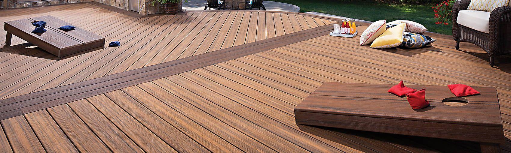 Wpc Outdoor Waterproof Laminate Decking Floor Wpc