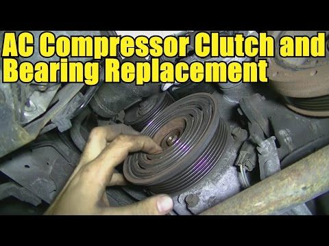 How to Remove and Replace an AC Compressor Clutch and